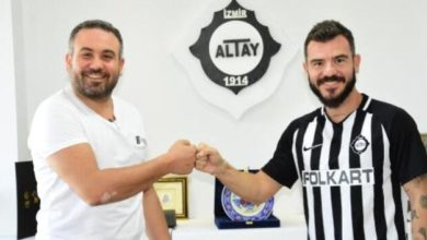Photo of Altay'dan iki transfer