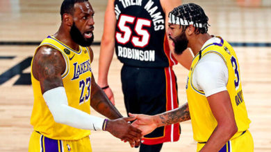 Photo of NBA finalinde ilk galibiyet Lakers'ın