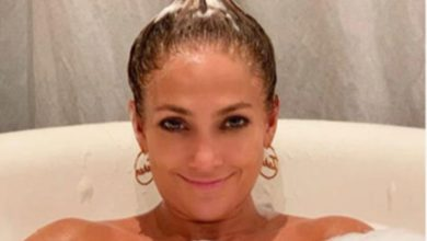 Photo of Jennifer Lopez'den küvet pozu